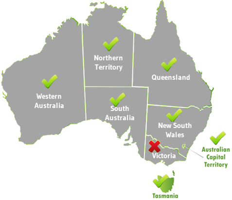 RSA Online for TAS also valid in WA, QLD, SA, NT, & ACT. To include NSW choose the Traveller bundle